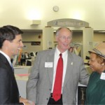 With Governor Robert Bentley and Odessa Woolfolk