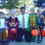 Halloween parade in Columbiana