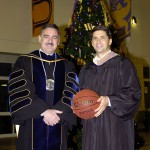 With University of Montevallo President, Dr. Stewart