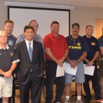 Shelby County Volunteer Fire Department Check Presentation